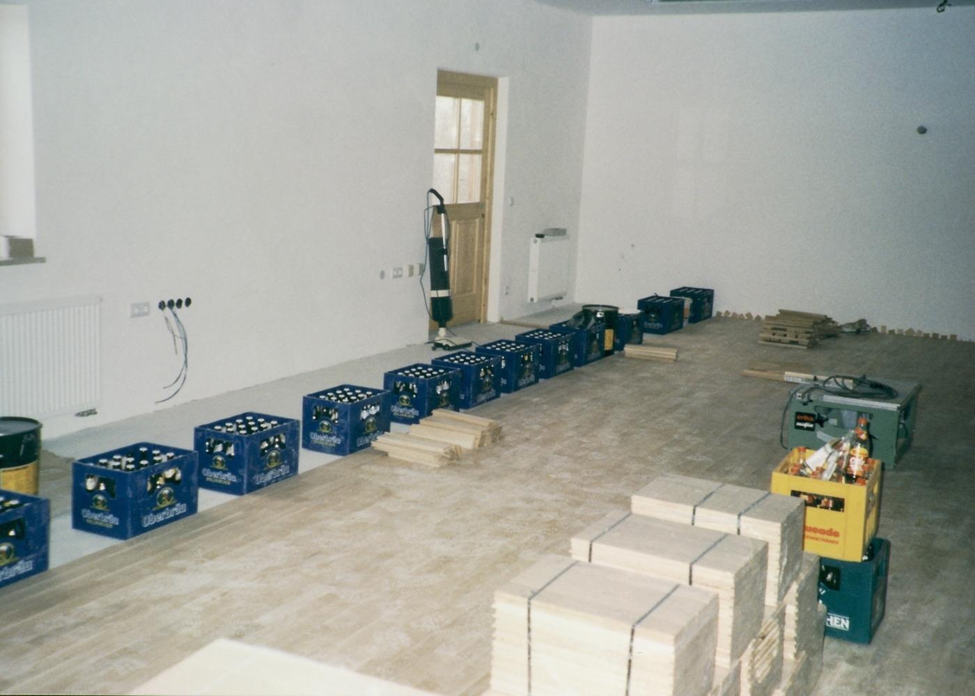 Bauarbeiten neues Schützenheim Altkirchen 2
