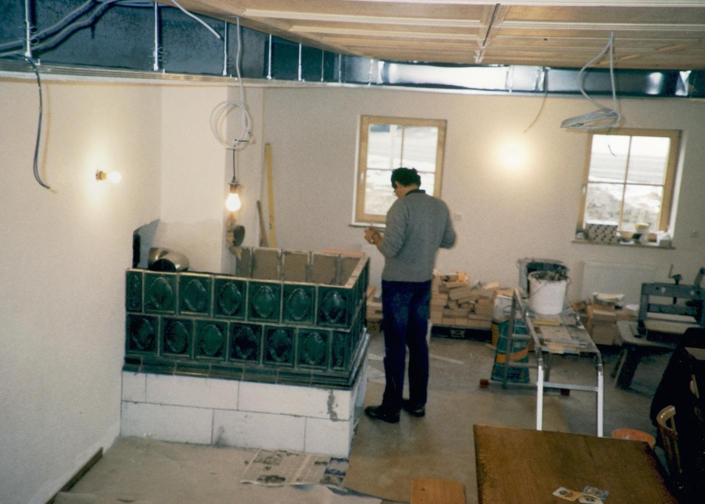 Bauarbeiten neues Schützenheim Altkirchen 3