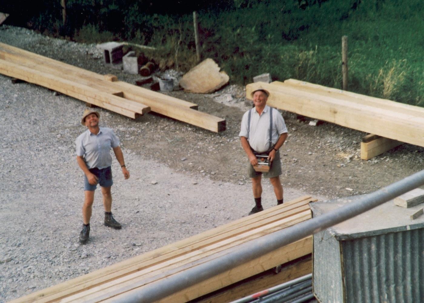Das Dach über dem Kopf mit der Firma Gruber 4