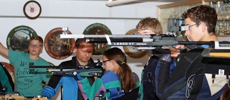 Jugendtraining Schützenverein Altkirchen