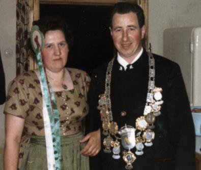 Martin und Rosl - Schützenkönige 1964